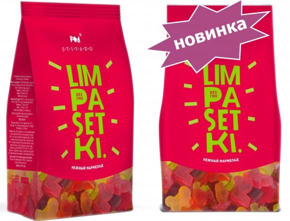 """ Лимпасетки (Limpasetki) "" 150 г (на основе пектина)"