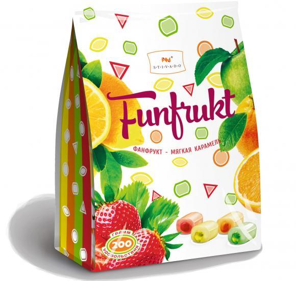 """""""Фанфрукт (Funfrukt)""""ассорти 200г (карамель жевательная)"""